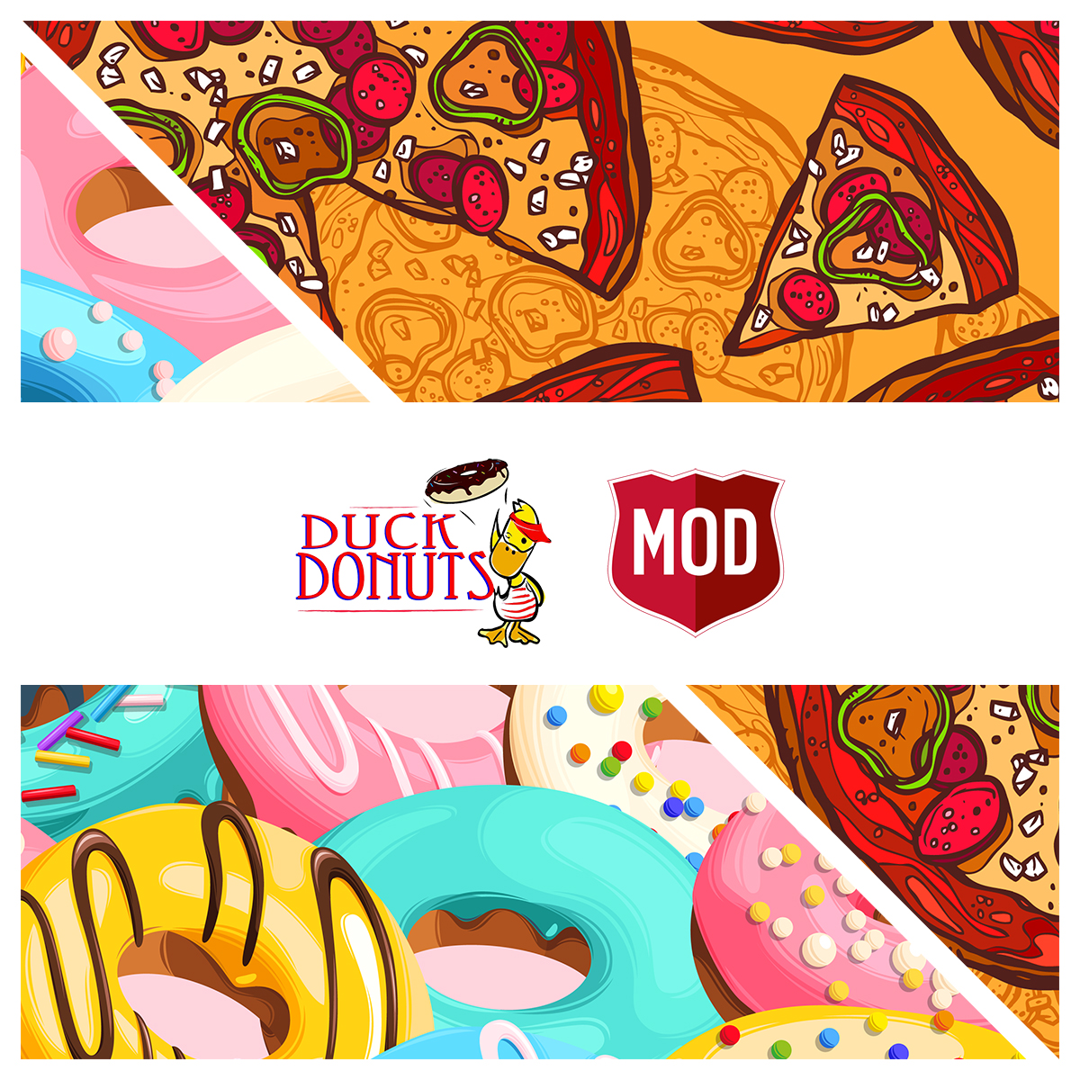 Duck Donuts & MOD Pizza